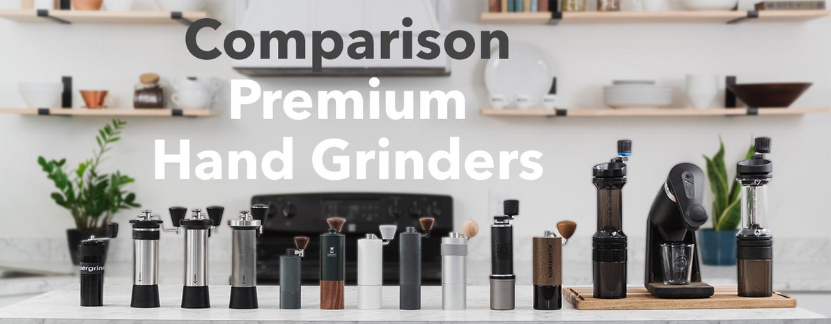 A Comparison of Premium Hand Grinders for Coffee and Espresso