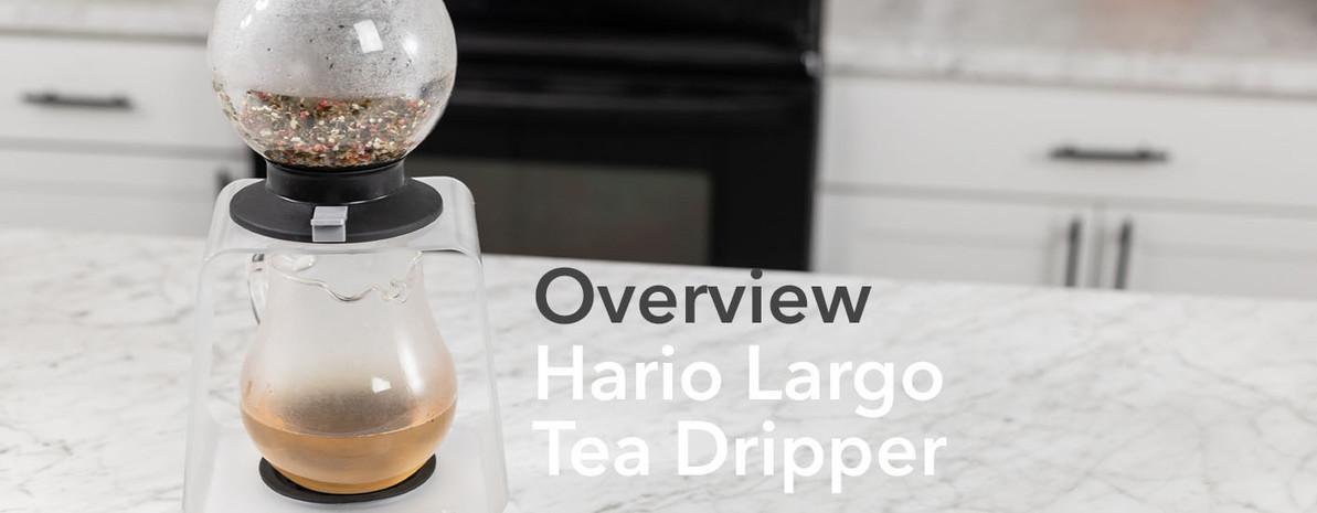 Video Overview   Hario Largo Tea Dripper