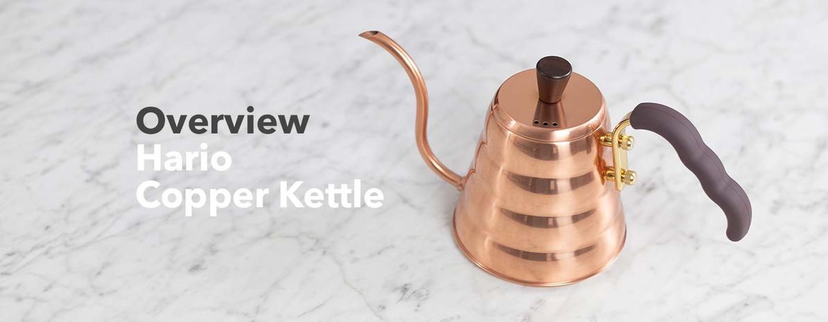 Video Overview | Hario Buono Copper Kettle
