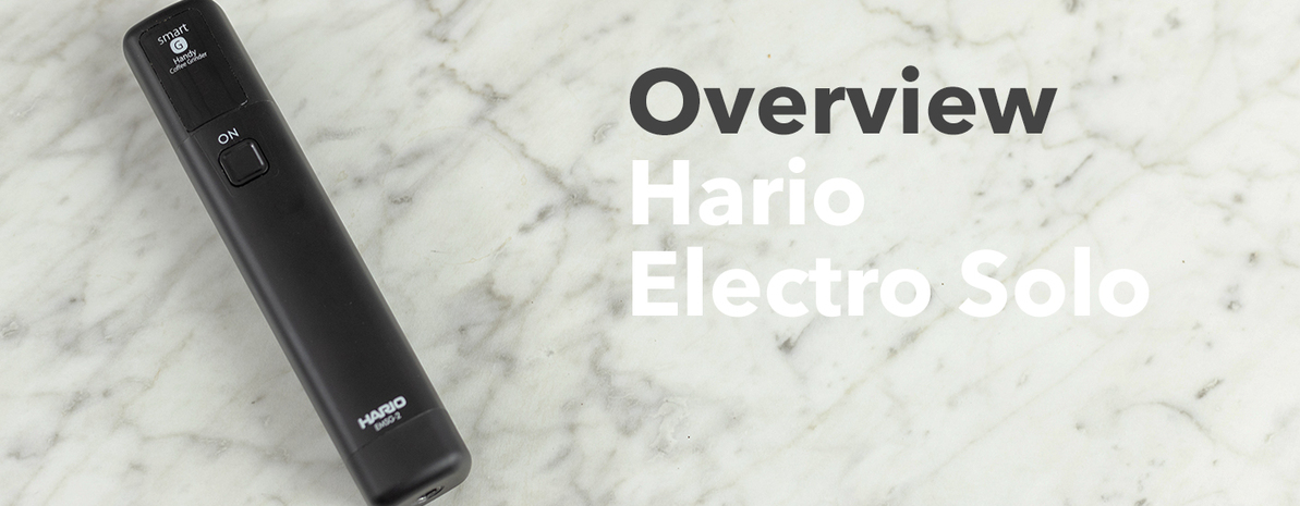 Video Overview   Hario Electro Solo Hand Grinder Attachment