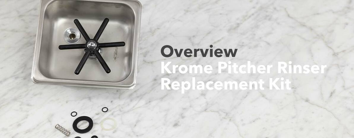Video Overview | Krome Pitcher Rinser Replacement Kit