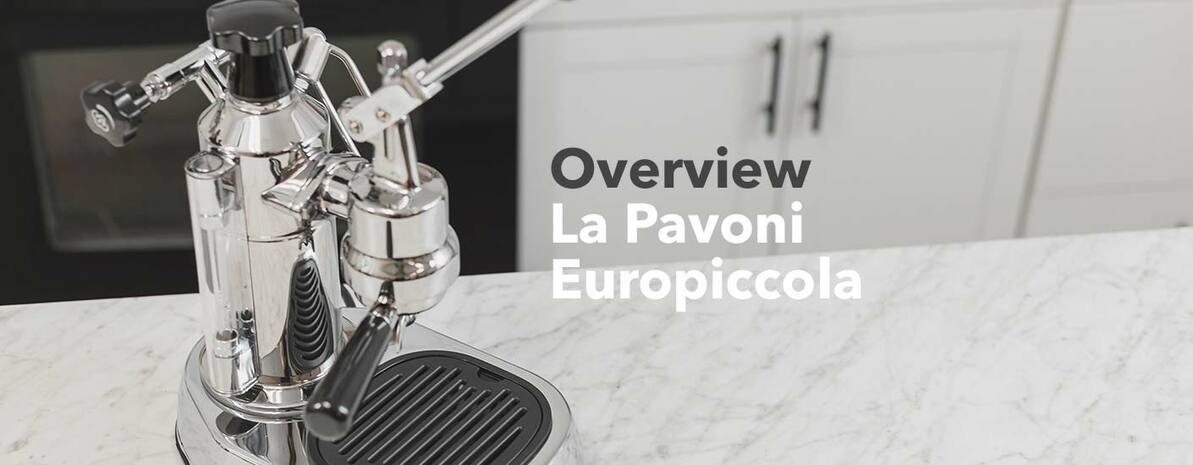 Video Overview| La Pavoni Europiccola