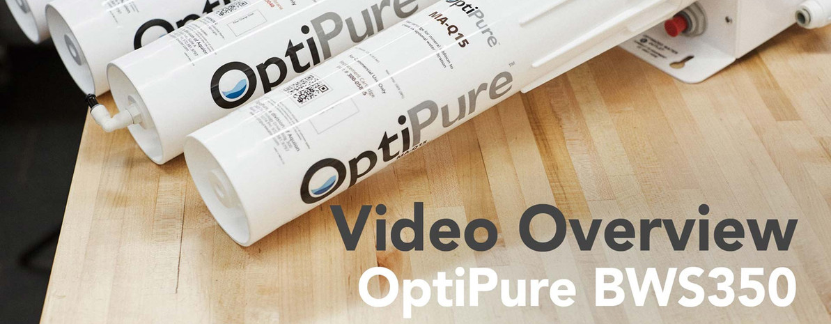 Video Overview | OptiPure BWS350 RO Water Treatment System with Mineral Addition