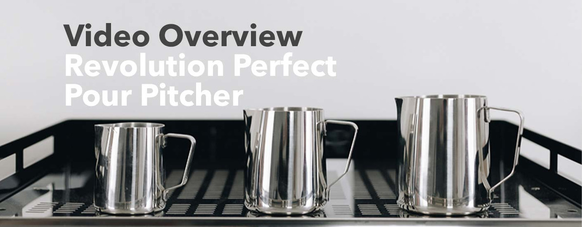 Video Overview | Revolution Perfect Pour Pitchers
