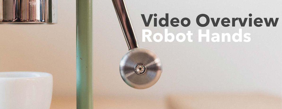 Video Overview | Robot Hands for Cafelat Robot
