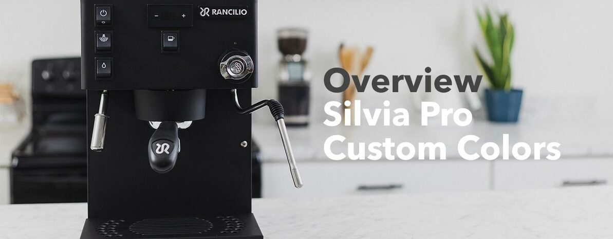 Video Overview   Rancilio Silvia Pro Custom Colors
