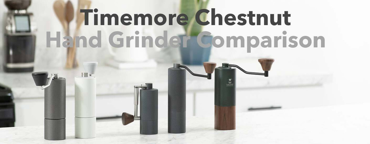 Product Comparison | Timemore Chestnut Hand Grinders