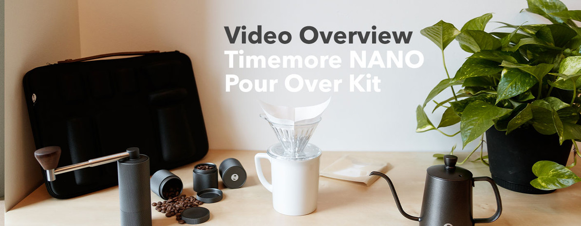 Video Overview | Timemore Carrying Case Pour Over Travel Kit