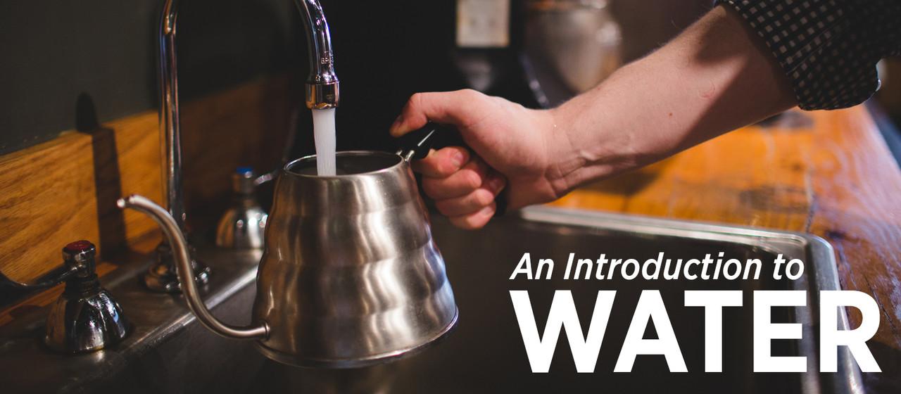Filling a kettle