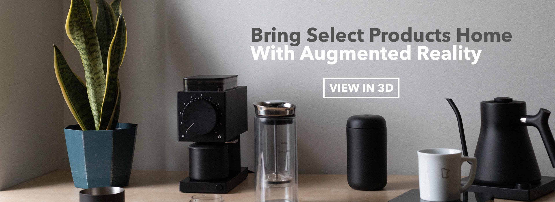bring select products home with augmented reality, view in 3d