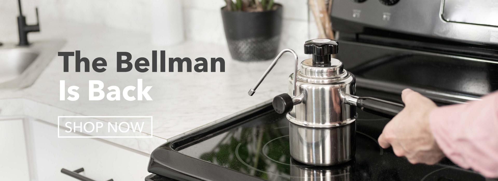 Bellman is back! Shop Now