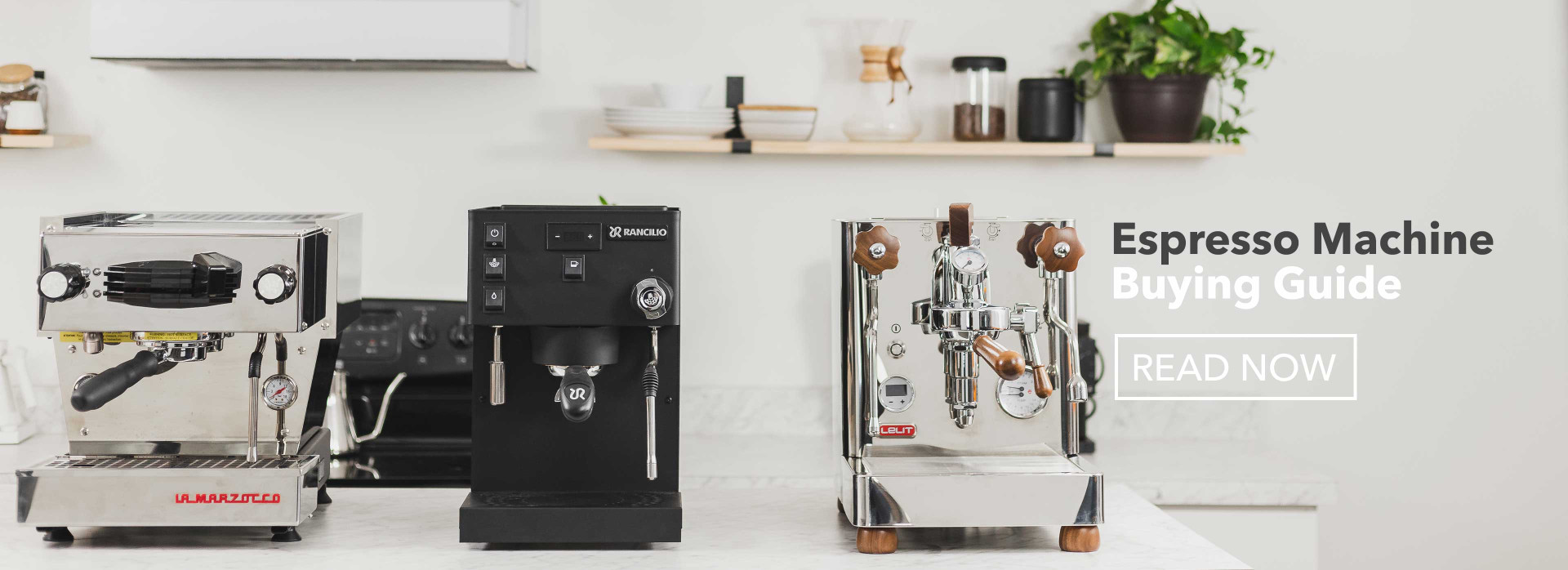 Espresso machine buying guide, read now