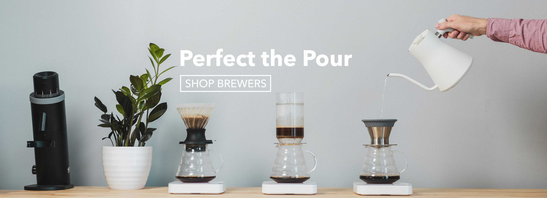 Shop pour over brewers