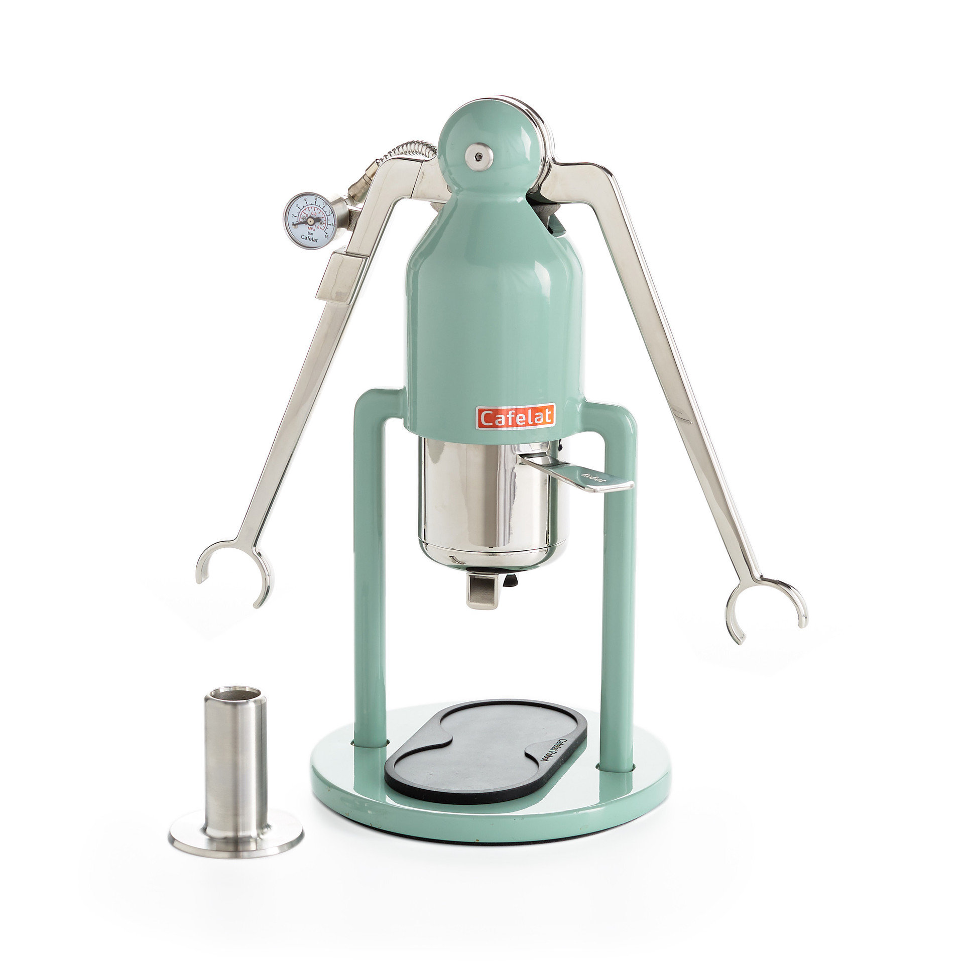 Cafelat Robot with white background