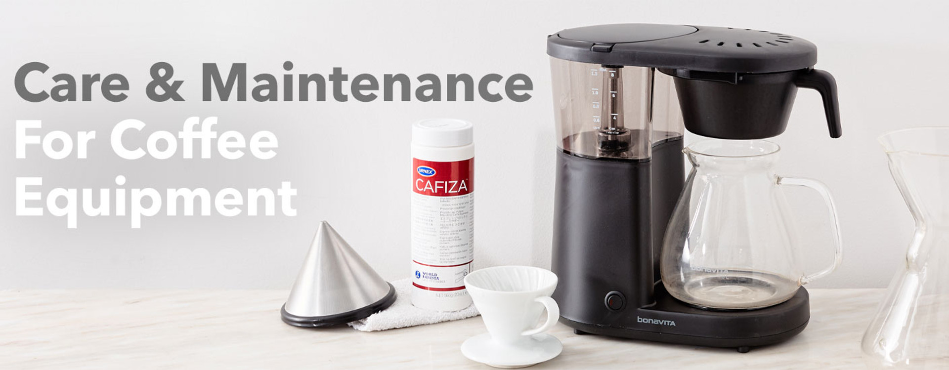 Coffee equipment and cleaner