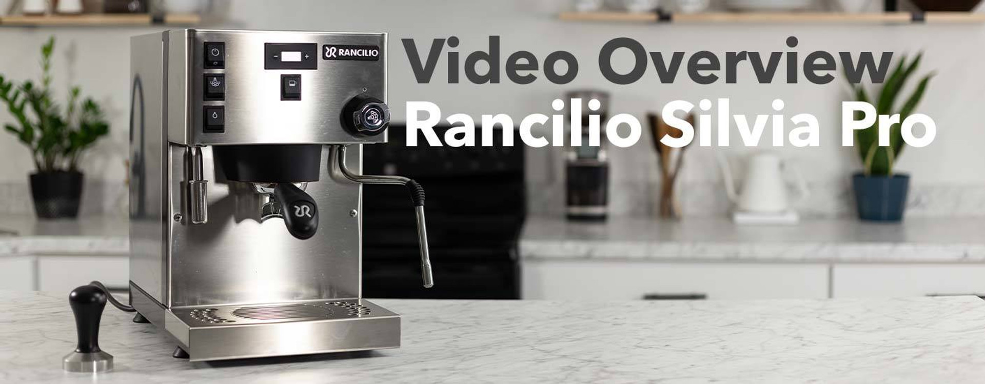 Rancilio Silvia Pro on counter