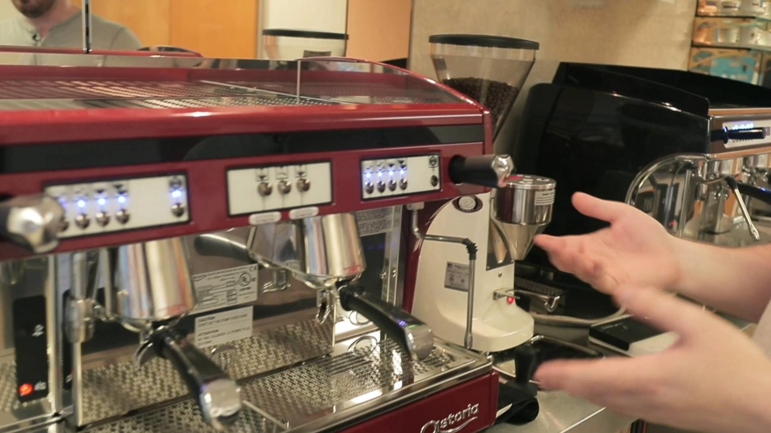 Astoria Gloria and Perla Espresso Machines
