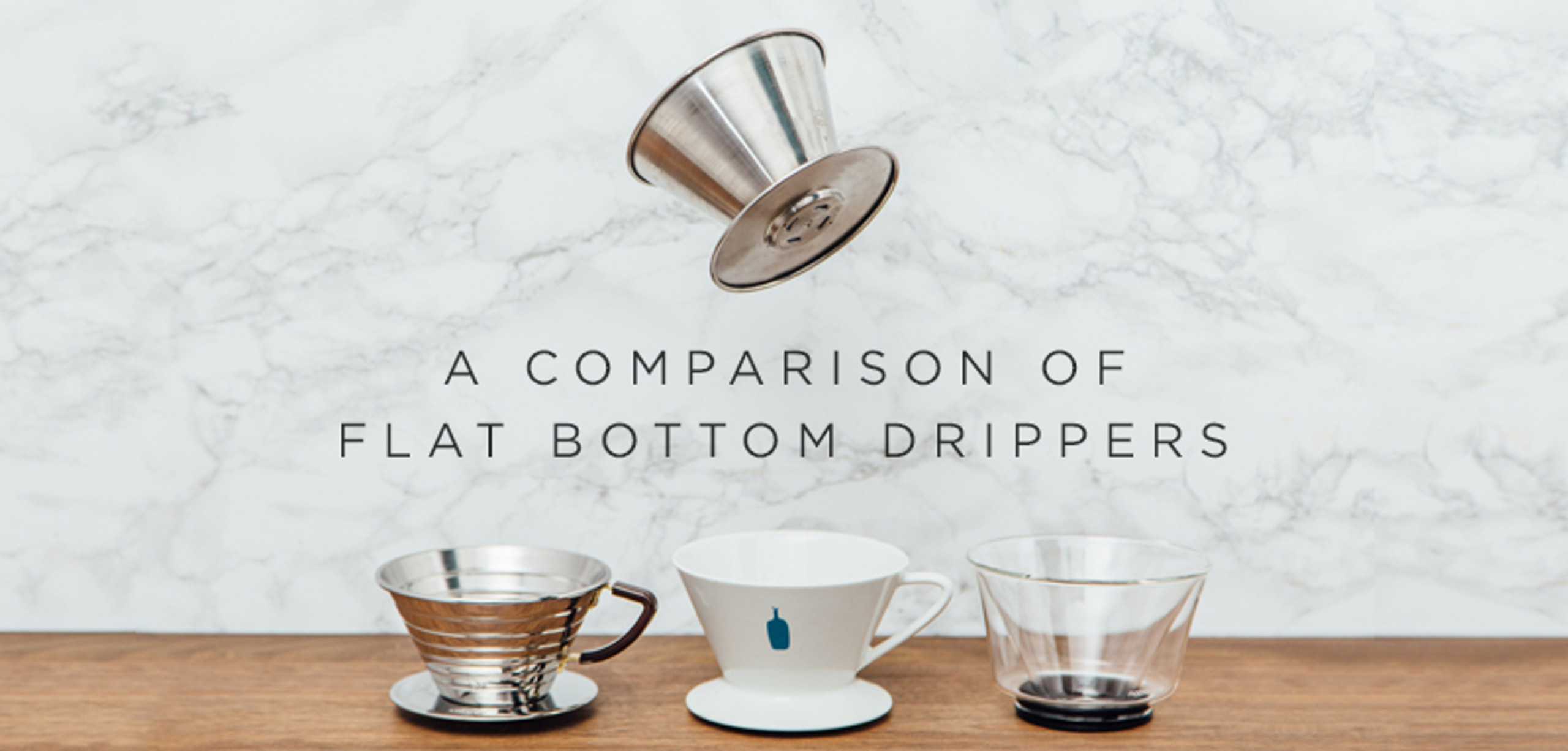 Guest Review: Flat Bottom Coffee Drippers