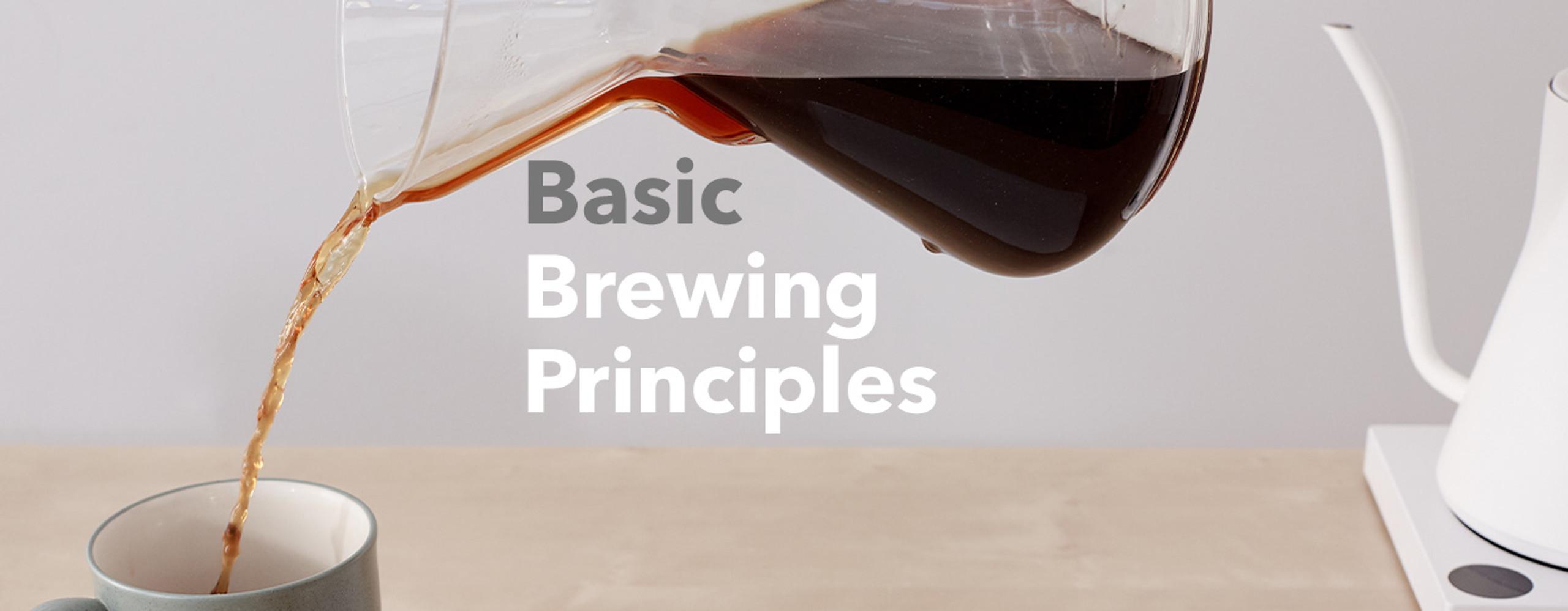 Basic Brewing Principles