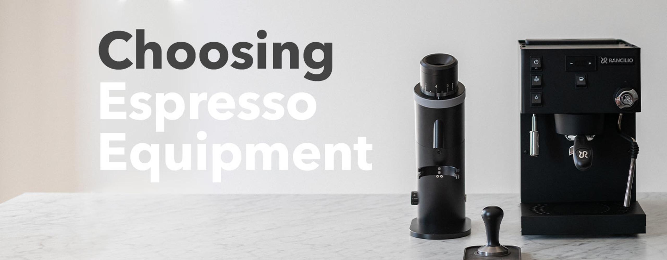Choosing Espresso Equipment