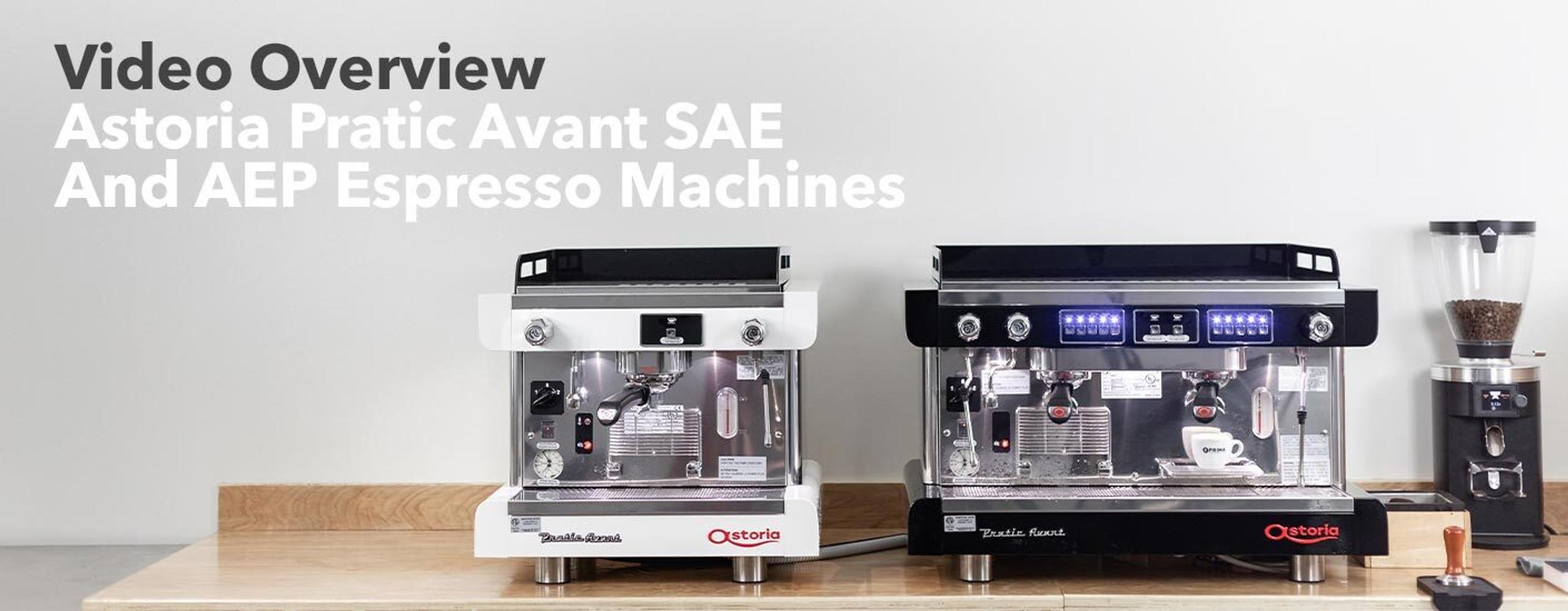 Astoria Pratic Espresso Machines