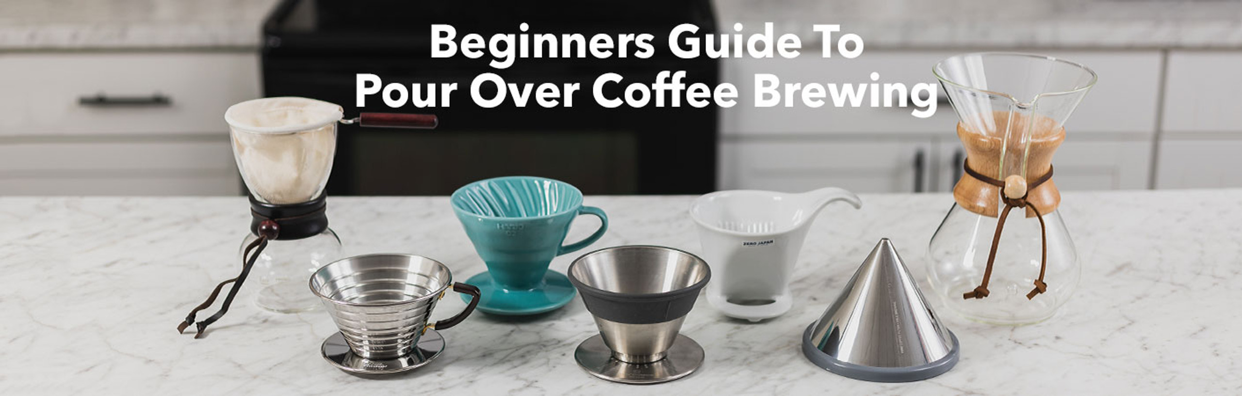 Beginners Guide To Pour Over Coffee Brewing