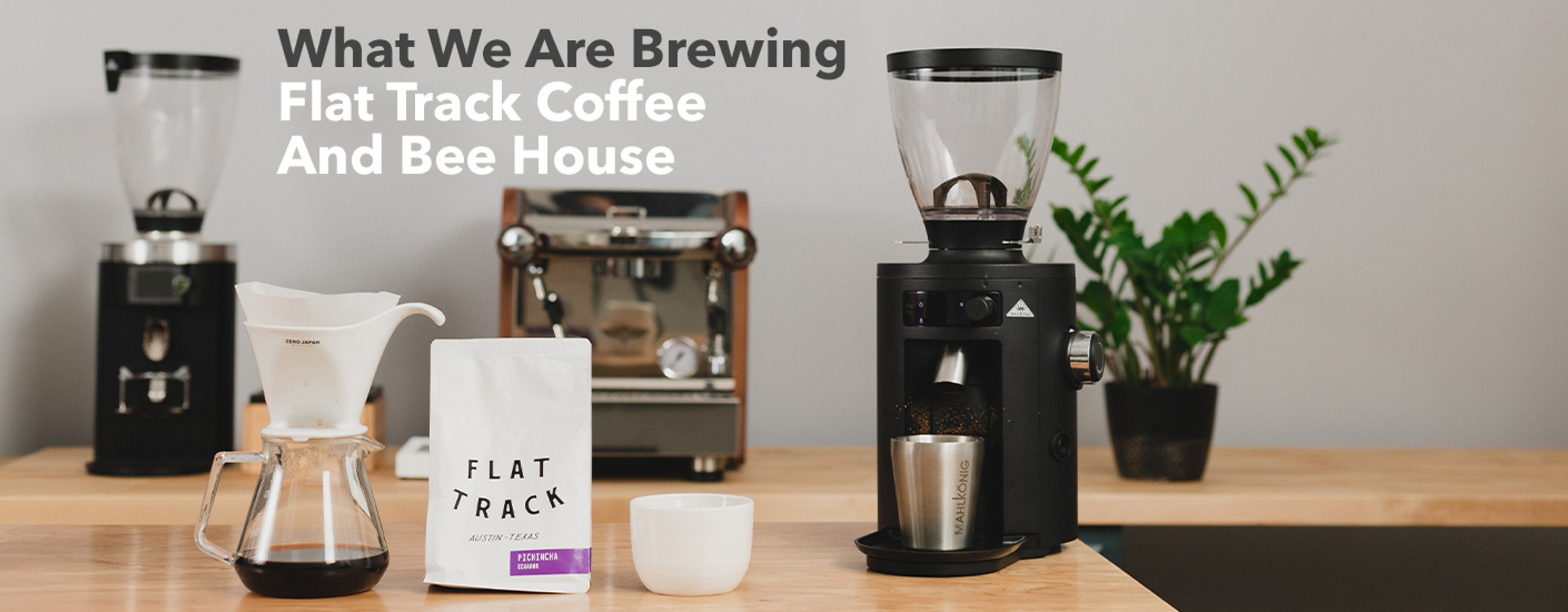What We Are Brewing: Flat Track Coffee