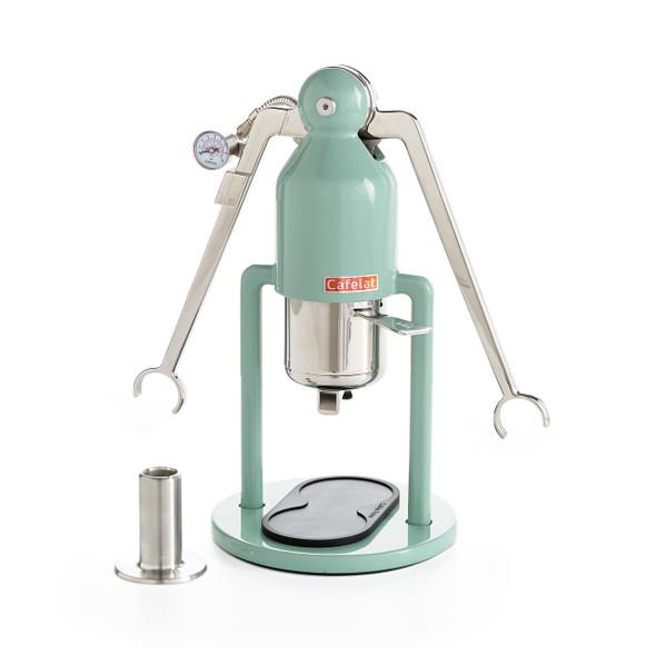 Cafelat Robot Barista Manual Lever Espresso Maker - Retro Green