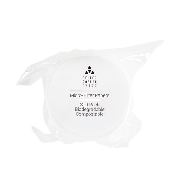 Delter Micro-filter - 300 pack - front