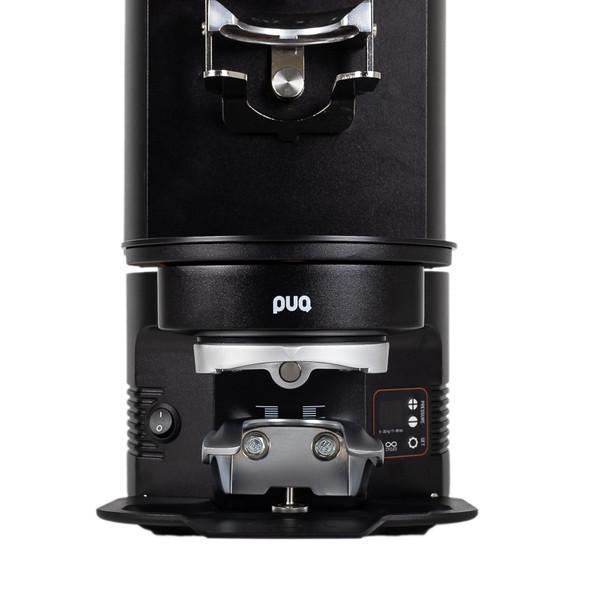 Black Puqpress M3 - under Mahlkonig G65S - front