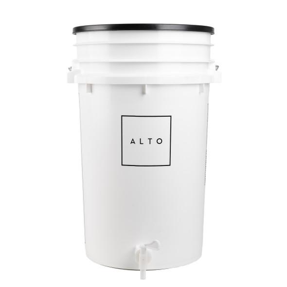 View of bucket