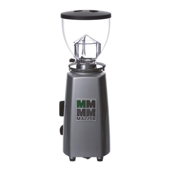Silver Mazzer Mini Espresso Grinder Back