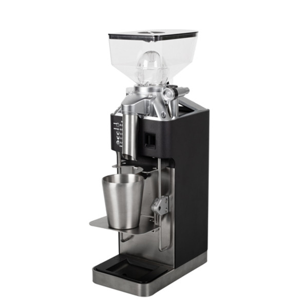 HeyCafe H1 Coffee Grinder Angled View Left
