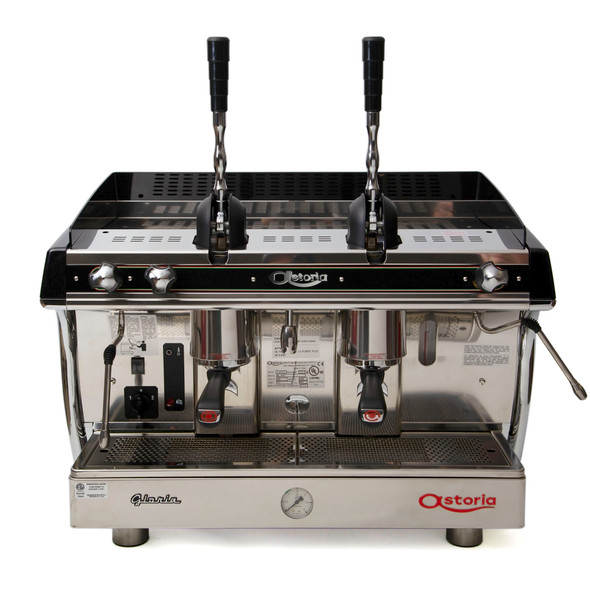 2 group Astoria Gloria A L Lever Espresso Machine