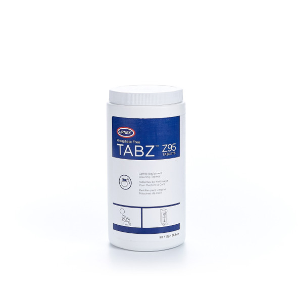 Urnex phosphate free tabz Z95 tablets 90 count front view