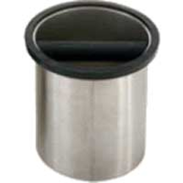 "Espresso Supply Rattleware Round Knock Box, 6.25"" x 7.5"" - 25201"