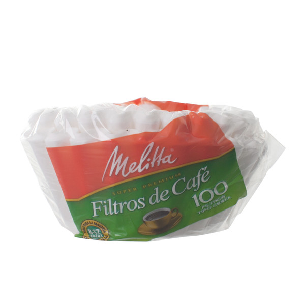 Melitta 8-12 cup basket coffee filters