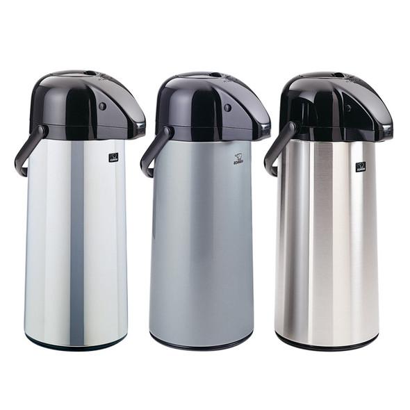 Zojirushi Polished Stainless Steel Air Pot Beverage Dispenser, 2.2 liter- AAPE-22SC