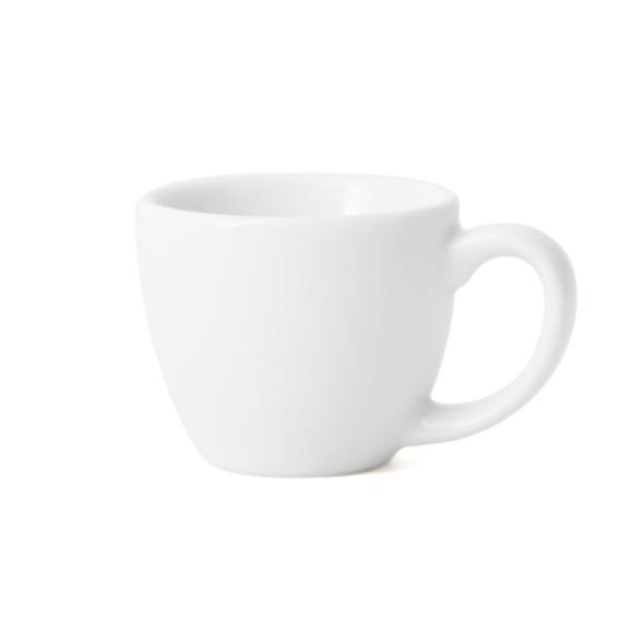 Porcelain single espresso cup