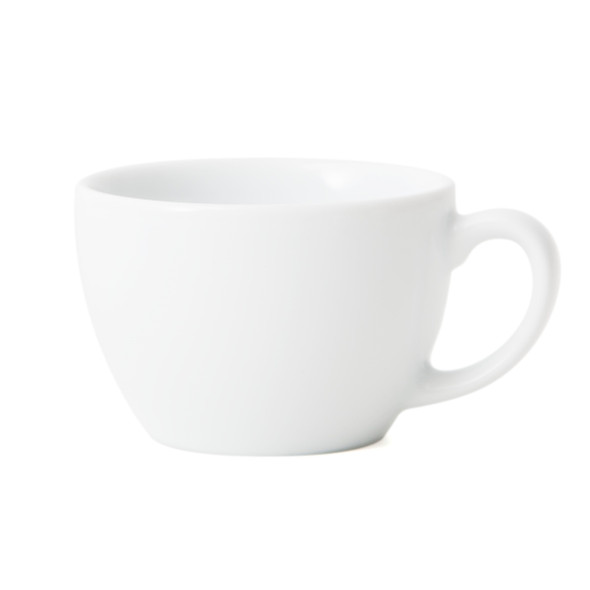Porcelain single cappuccino cup
