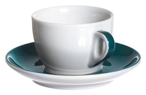 Teal Espresso Cappuccino Latte Cup
