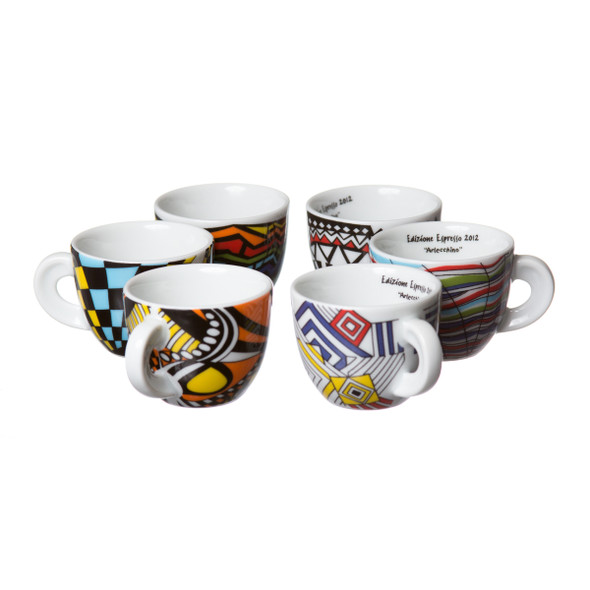 special edition porcelain demitasse cup set