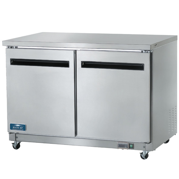 Picture of a 2 Door Under-Counter Refrigerator