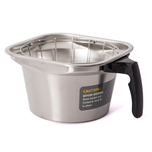 Fetco 16x6 Stainless Steel Brew Basket