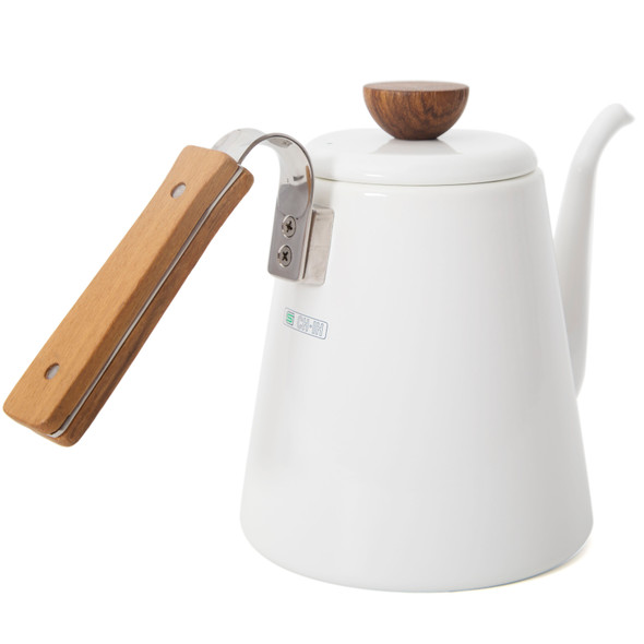 Hario Bona Enamel Pouring Kettle 800 mL Back