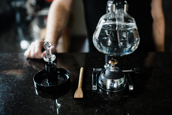 Yama Butane Burner and Siphon Coffee Brewer