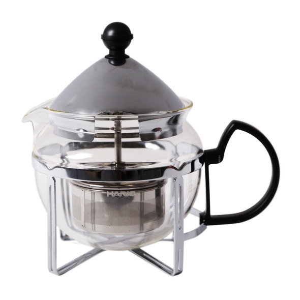 Hario Chaor Tea Brewer Basket Lowered