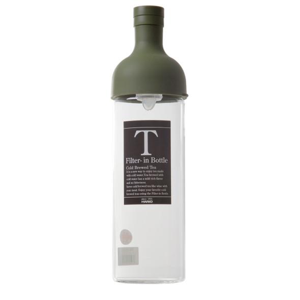 Hario cold brew tea filter in bottle