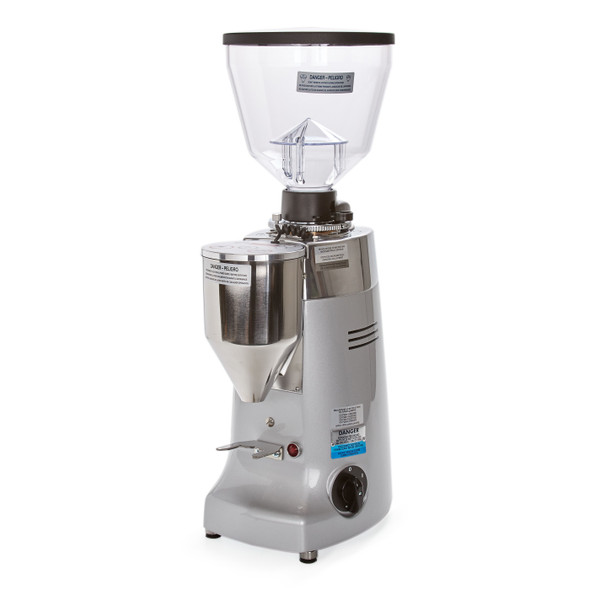 Electronic Conical Burr Espresso Grinder Silver