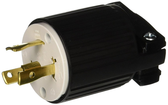 Eaton L630P 30-Amp 250-Volt Hart-Lock Industrial Grade Plug with Safety Grip